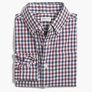 J Crew ap530 boys flex casual shirt plaid
